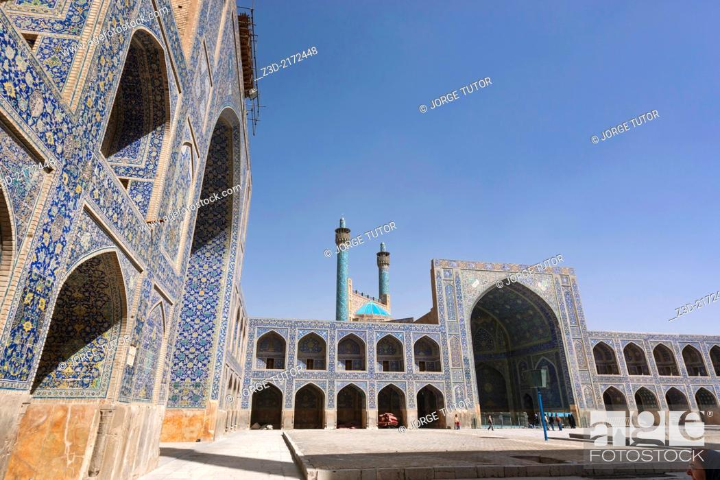 Imagen: Inside Imam Mosque, Isfahan, Iran.
