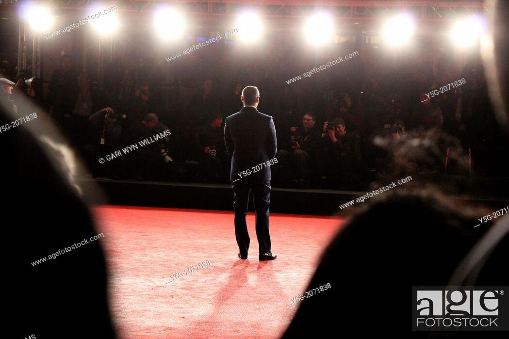 Imagen: Rome, Italy. 10th Nov, 2013 Scene at the Rome International Film Festival at the Auditorium in Rome, Italy.