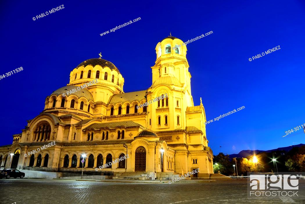 Imagen: Alexander Nevski cathedral-monument in Sofia, Bulgaria.