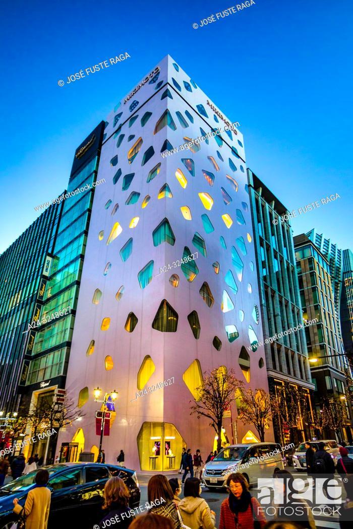 Imagen: Japan, Tokyo City, Ginza District, Bldg.