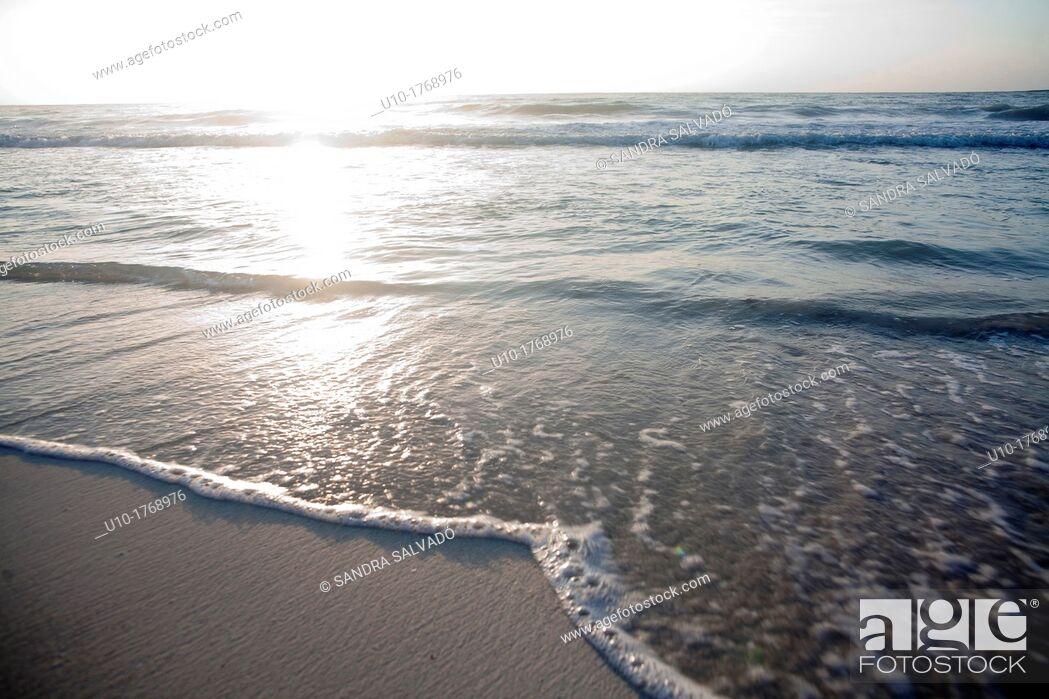 Stock Photo: Tulum Beach, Mexican Caribbean, Riviera maya, México.