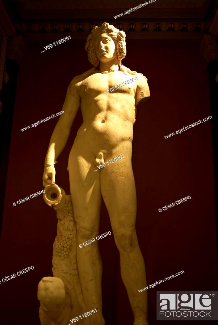 Stock Photo: -God Bacchus- Wien (Austria).