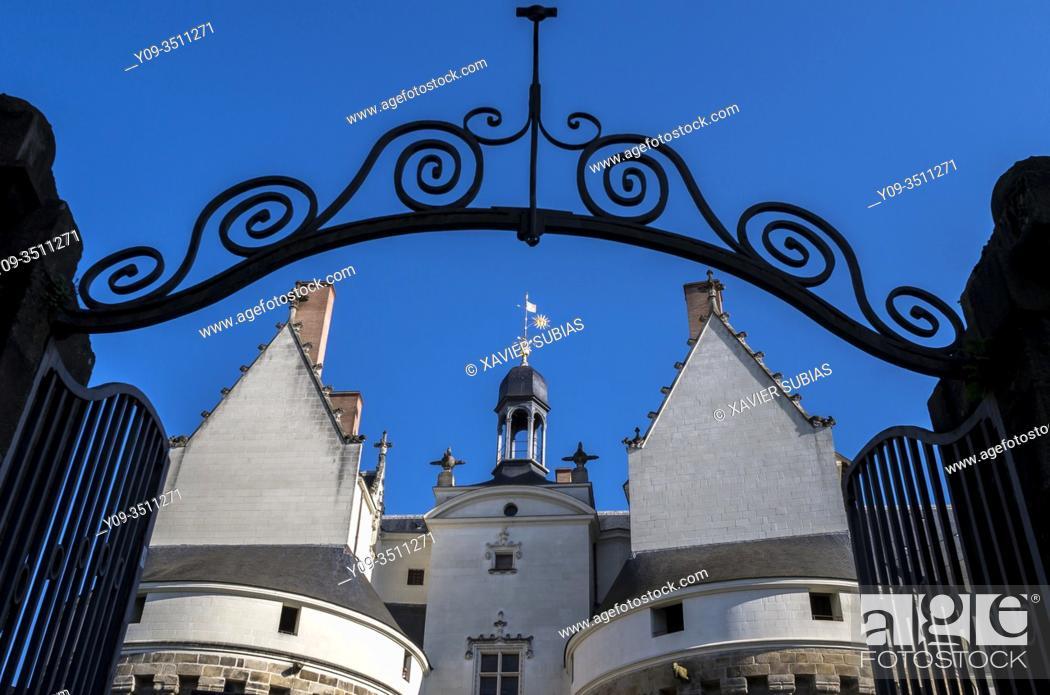 Imagen: Dukes of Brittany's castle, Nantes, Loire-Atlantique, Pays de la Loire, France.