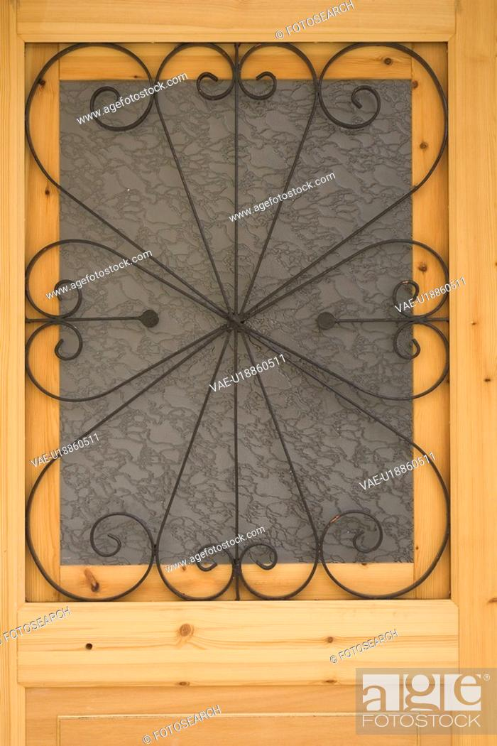 Stock Photo: Closed, Close-Up, Door, Entrance, Frame.