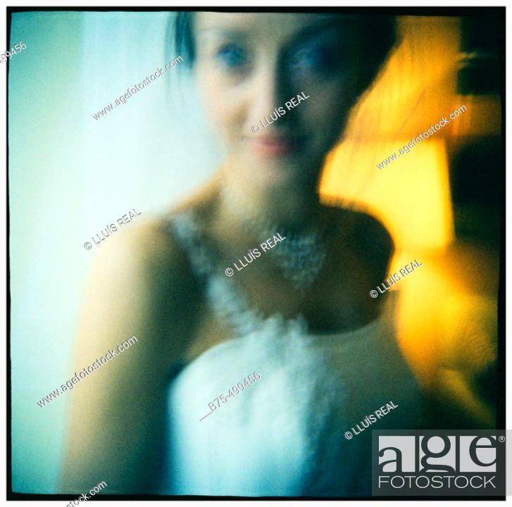 Stock Photo: Bride.