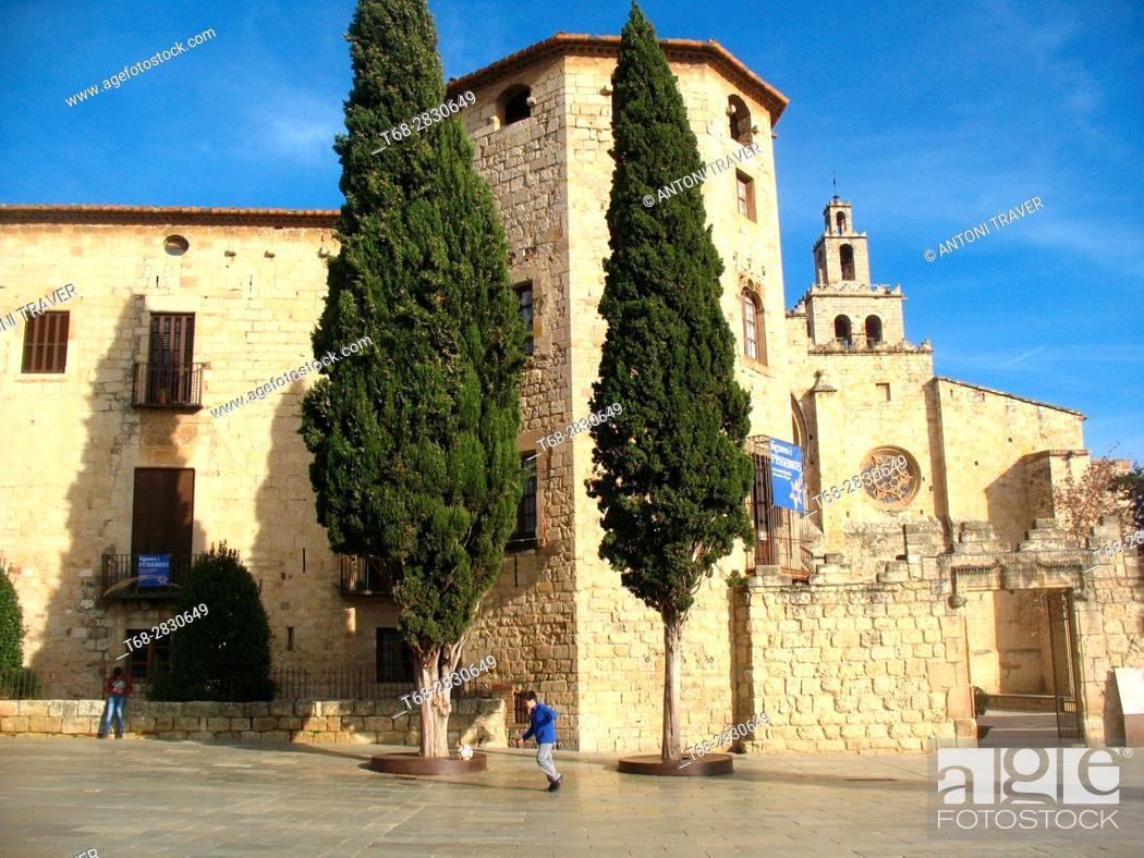 Monastery Of Sant Cugat Sant Cugat Del Valles Barcelona Province