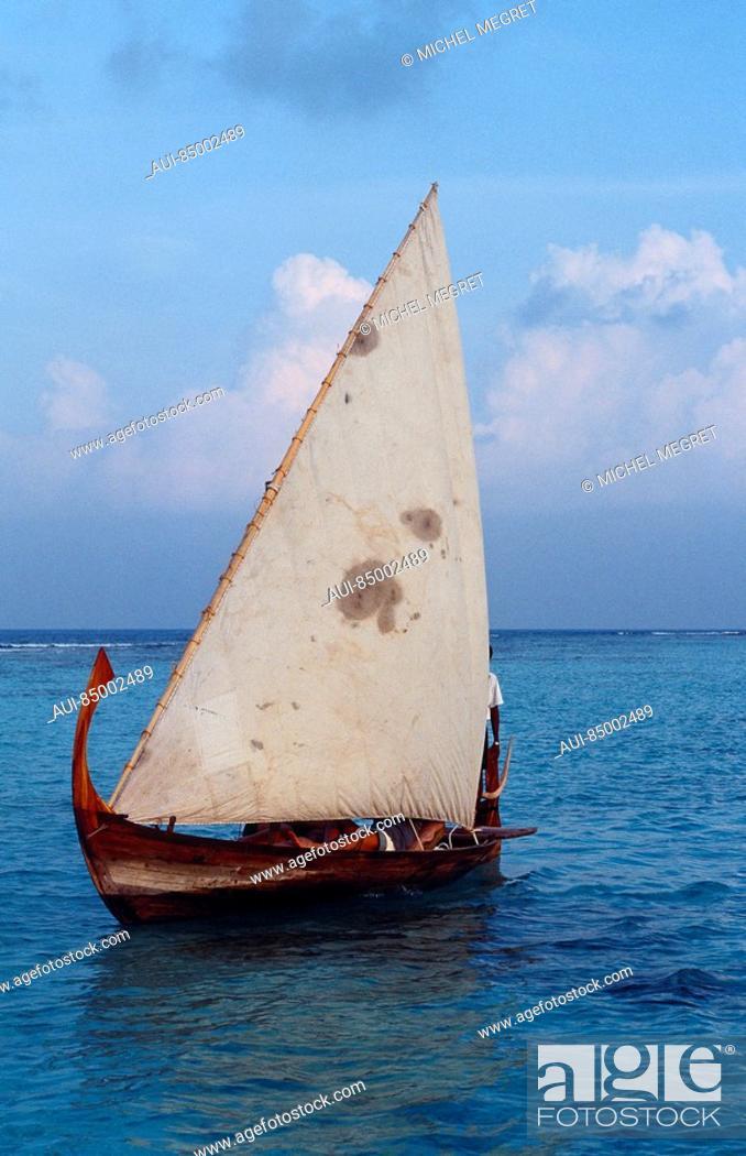 Stock Photo: Maldives - Kunfunadhoo Island - Soneva Fushi Resort.