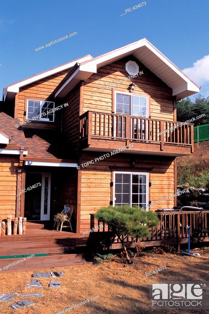 Stock Photo: House,Korea.