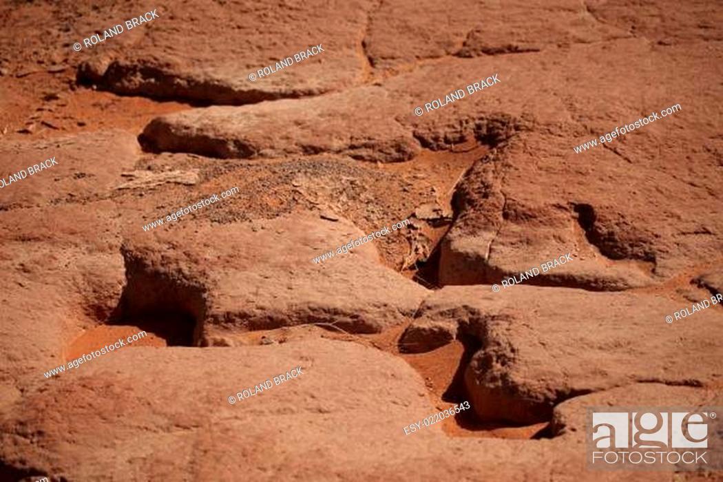 Stock Photo: Die Sahara.