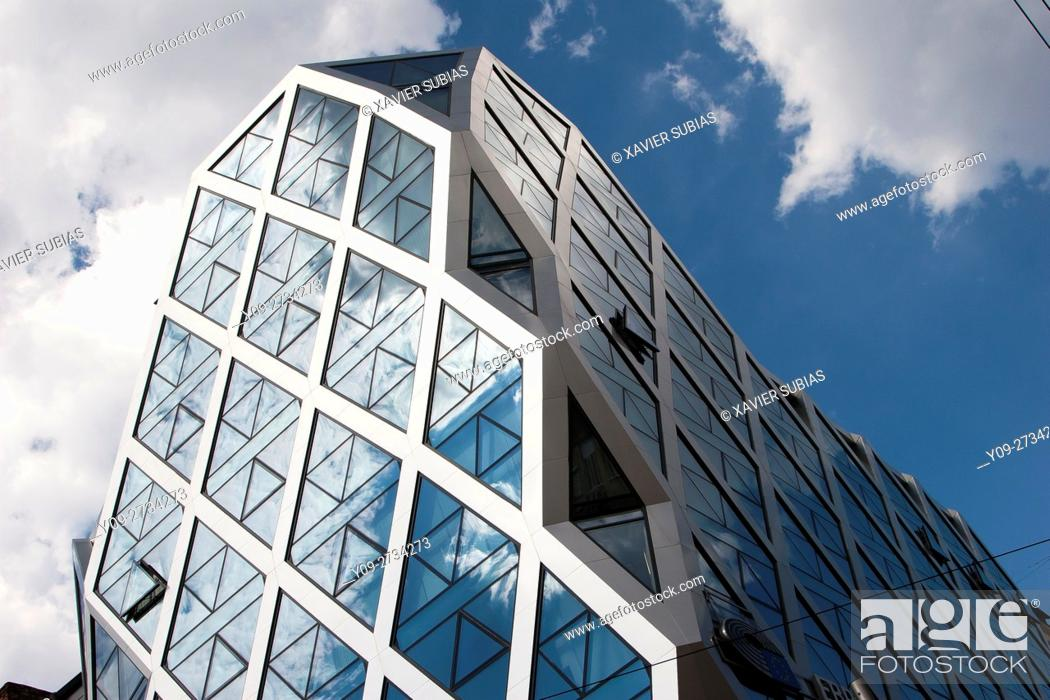 Stock Photo: Rakovsky Business Center, Sofia, Bulgaria.