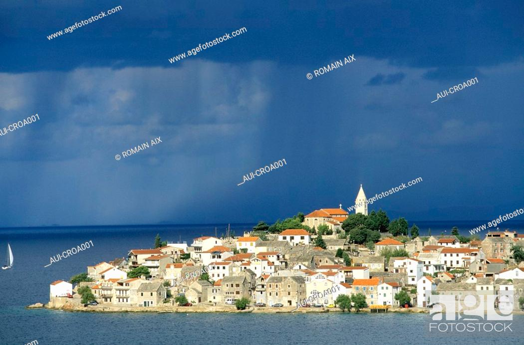 Stock Photo: Croatia - Primosten.