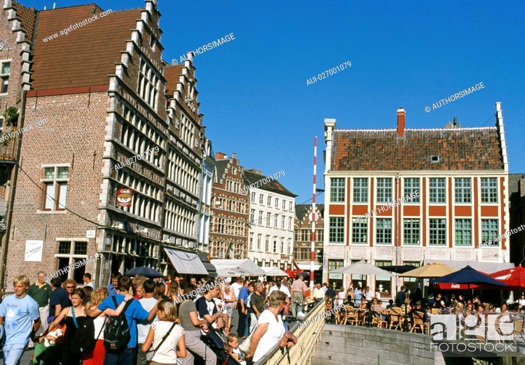 Stock Photo: Belgium - Flanders - Ghent.