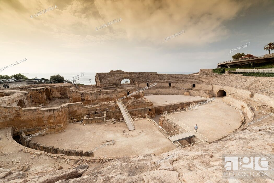 Imagen: tarragona. roman amphitheatre.