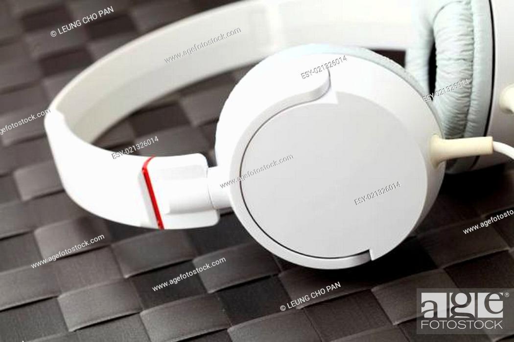 Photo de stock: Headphone.