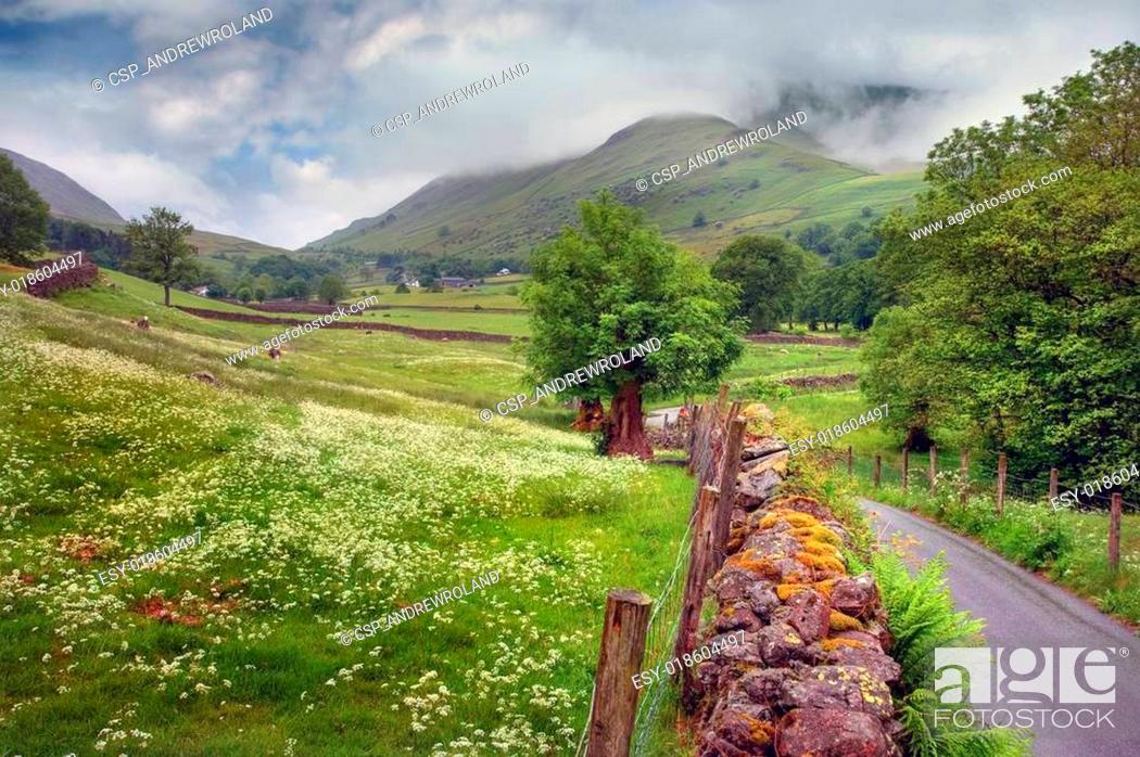 Stock Photo: Grasmere, Cumbria.