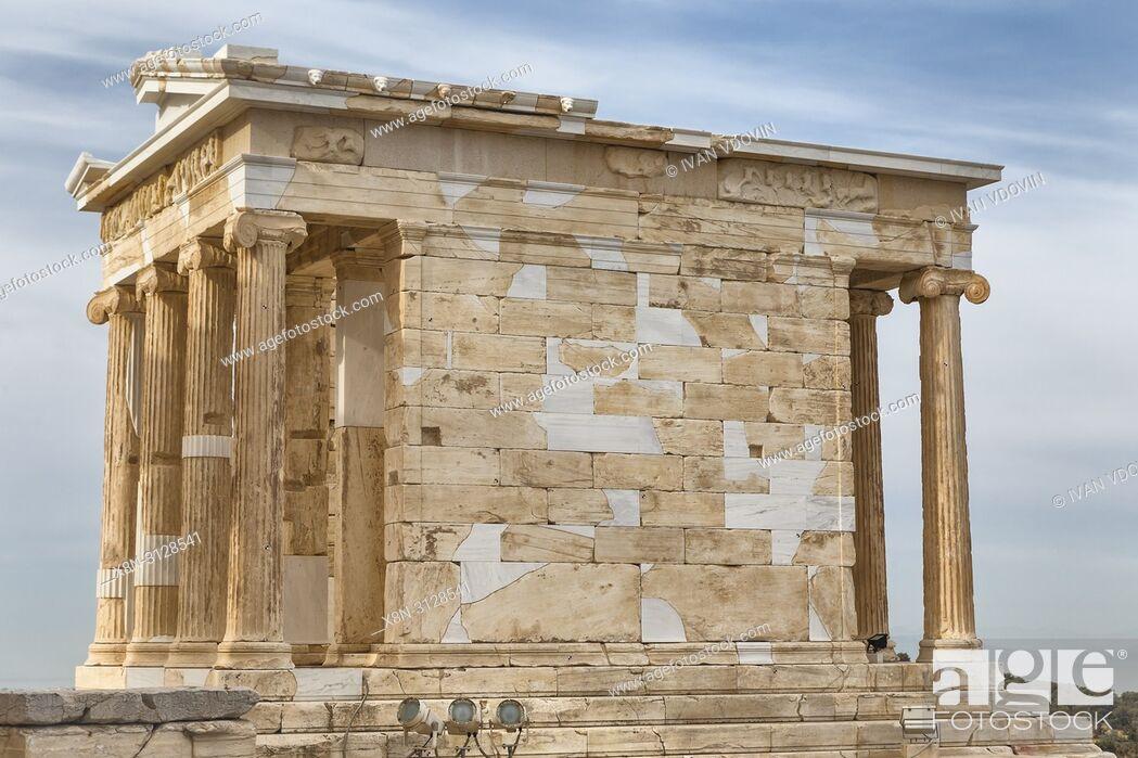 Imagen: Temple of Athena Nike, Nika Apteros (420 BC), Athens, Greece.