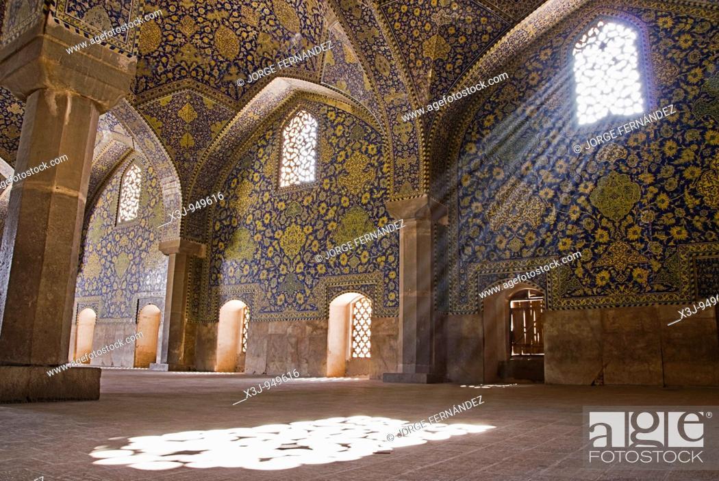 Imagen: Iman's mosque, Isfahan, Iran.