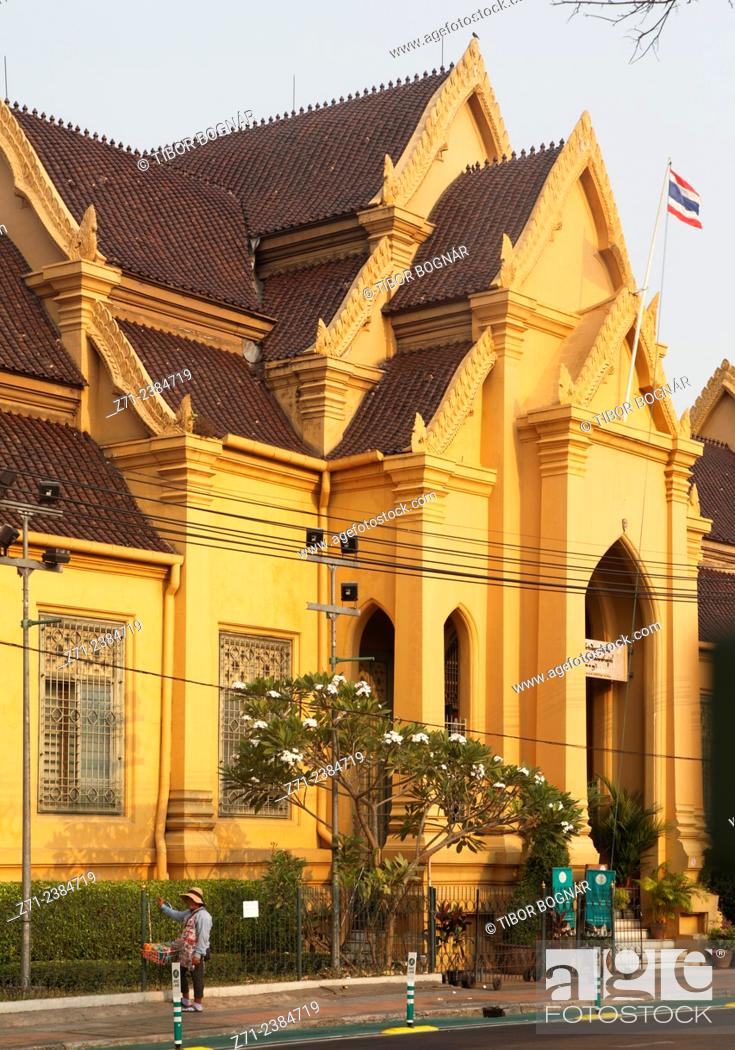 Imagen: Thailand, Bangkok, Wat Mahathat, buddhist temple.