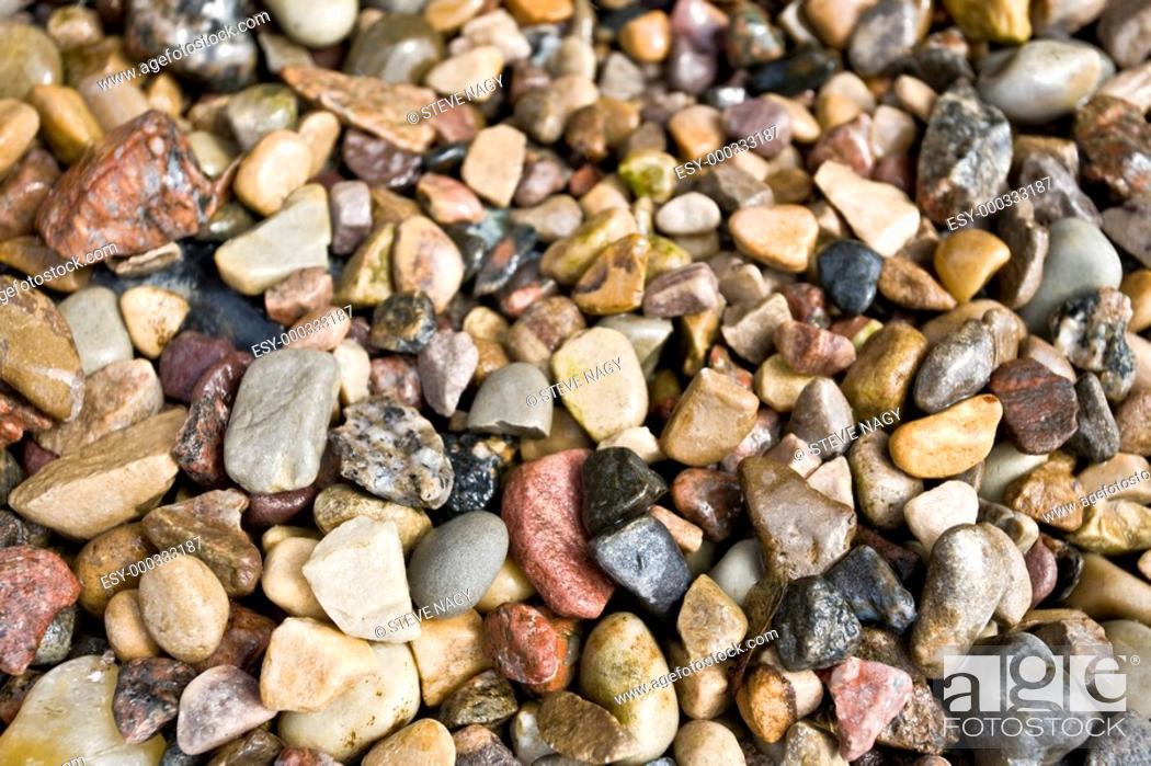 Stock Photo: Rocks and pebbles.