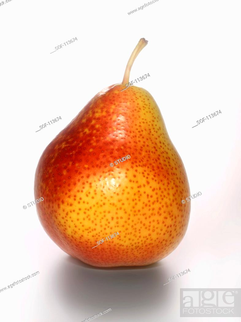 Stock Photo: Forelle pear.