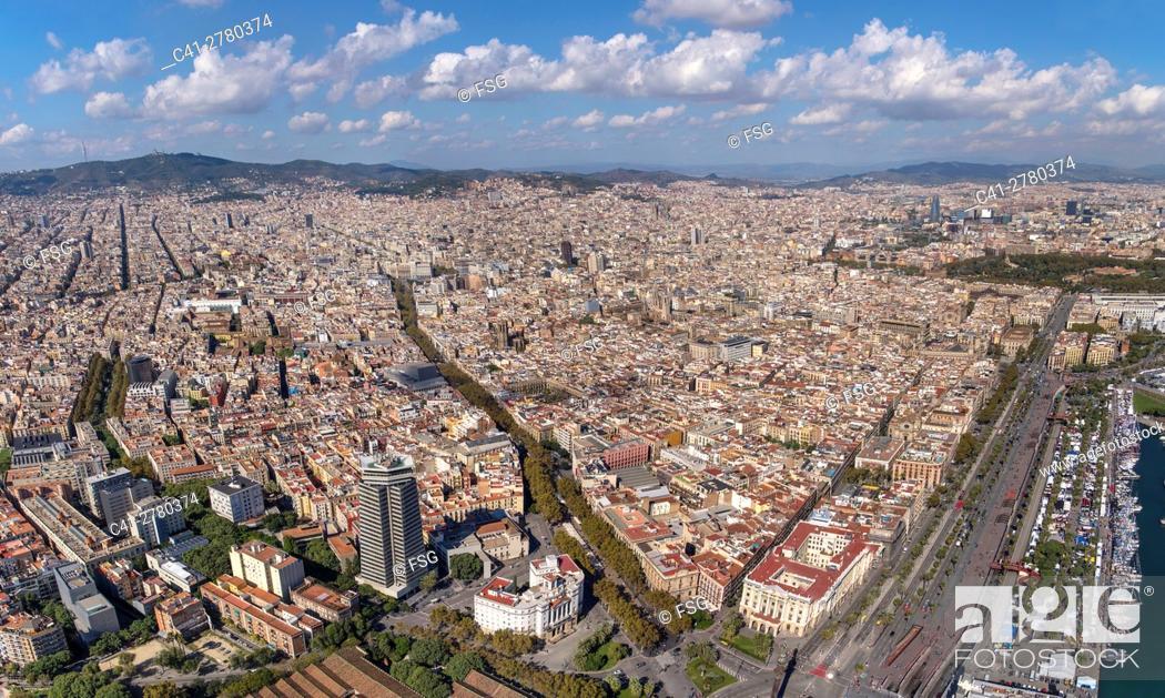 Imagen: Aerial view of Barcelona.