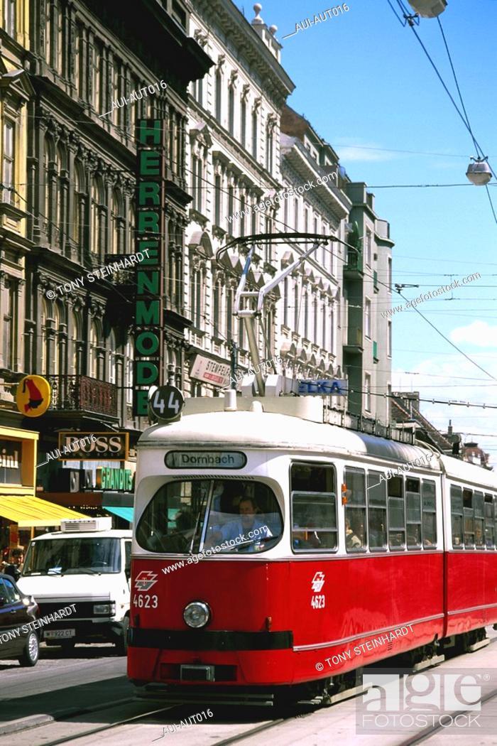 Stock Photo: Austria - Vienna - Tram.