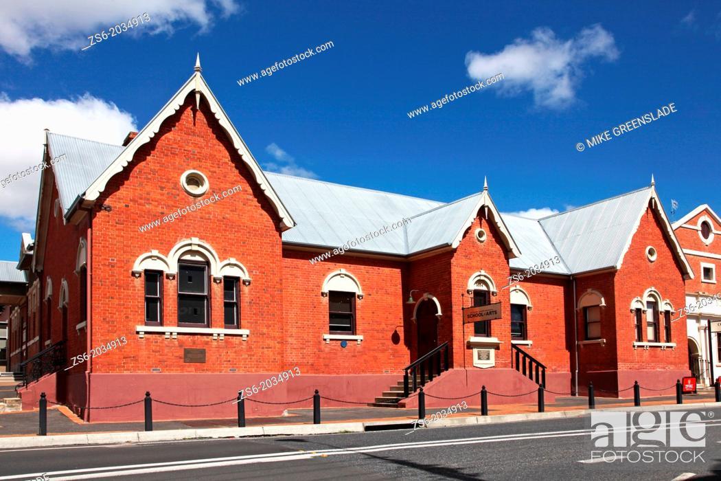 Imagen: School of Art, Tenterfield, NSW, Australia.