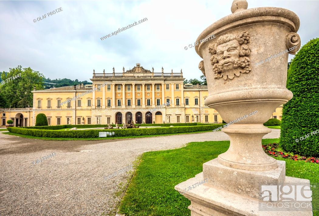 Stock Photo: Villa Olmo is a neoclassical villa in Como, Lombardy, Italy.