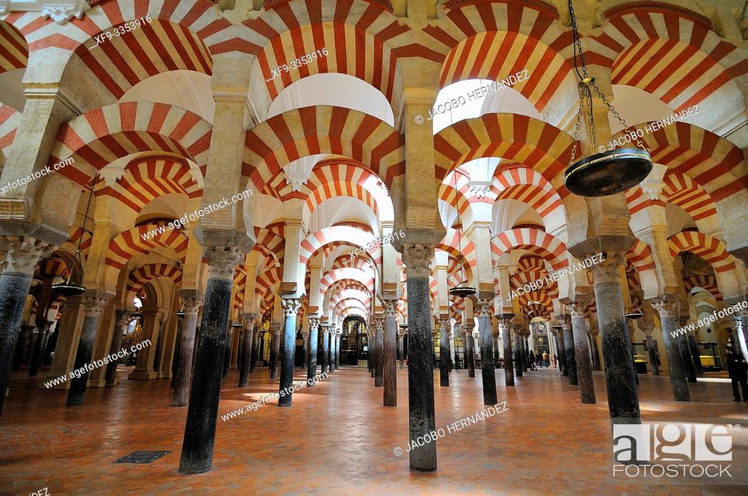 Imagen: Mosque of Córdoba. Andalusia. Spain.