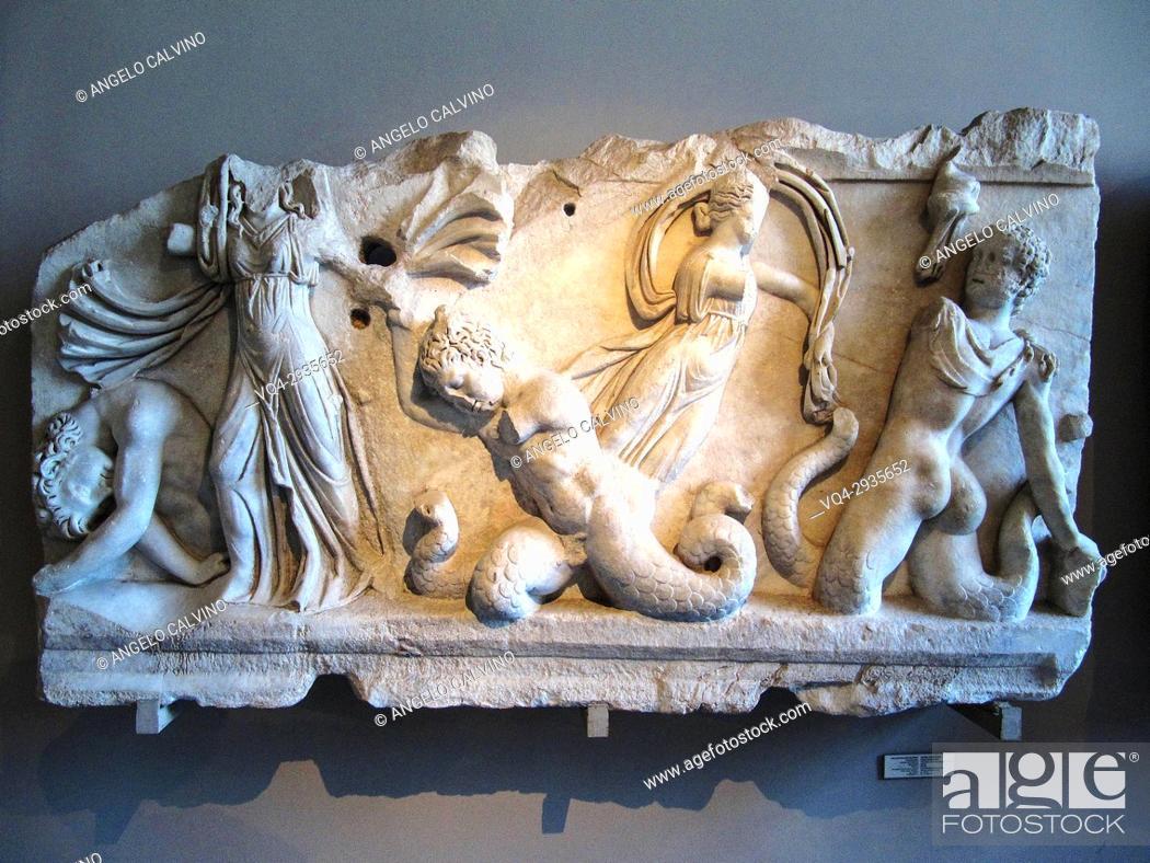 Stock Photo: Archaeology Museum, Istanbul, Turkey.