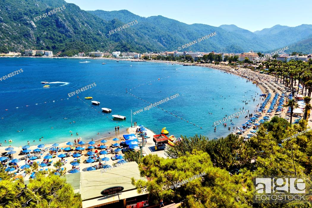 Stock Photo: Mediterranean Sea near Marmaris Turkey.