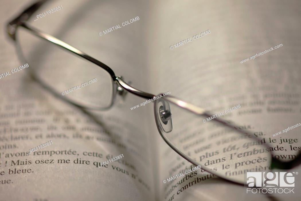 Stock Photo: pair of glasses.