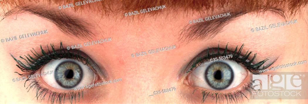 Stock Photo: Eyes.