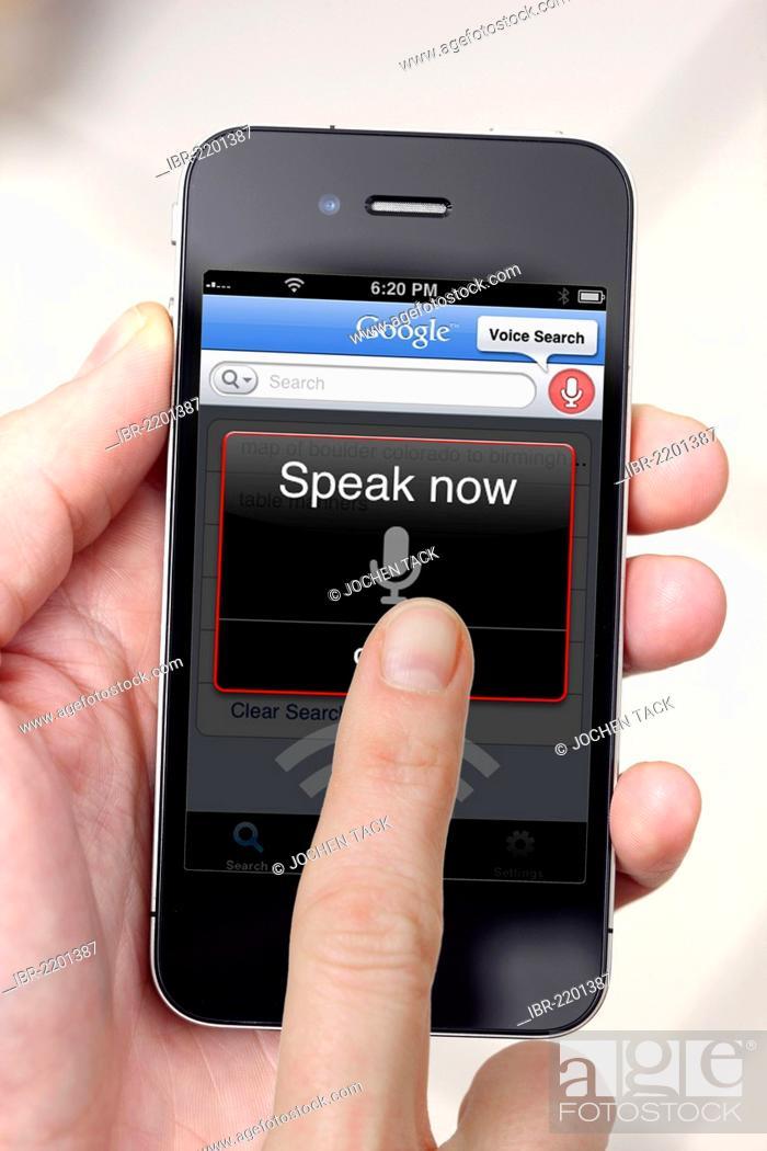 Iphone, smart phone, voice recorder, audio-recording app on