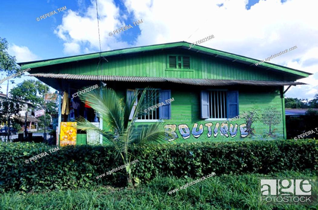 Stock Photo: Costa Rica, Caribbean coast, shop.