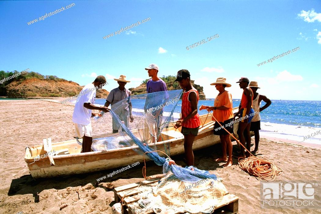 Stock Photo: Caribbean - Martinique - Grand Riviere.