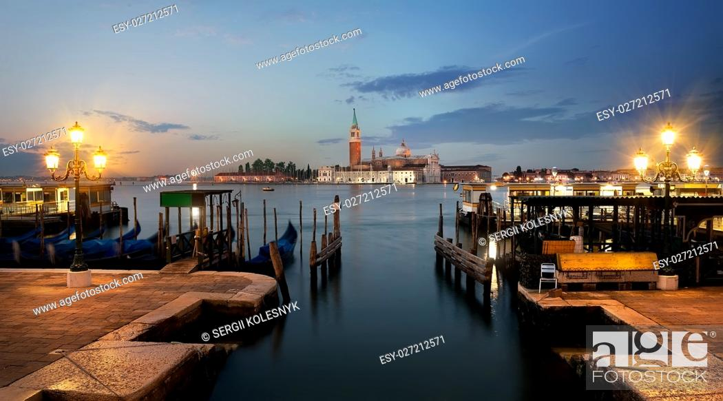 Imagen: View on San Giorgio Maggiore in Venice,Italy.