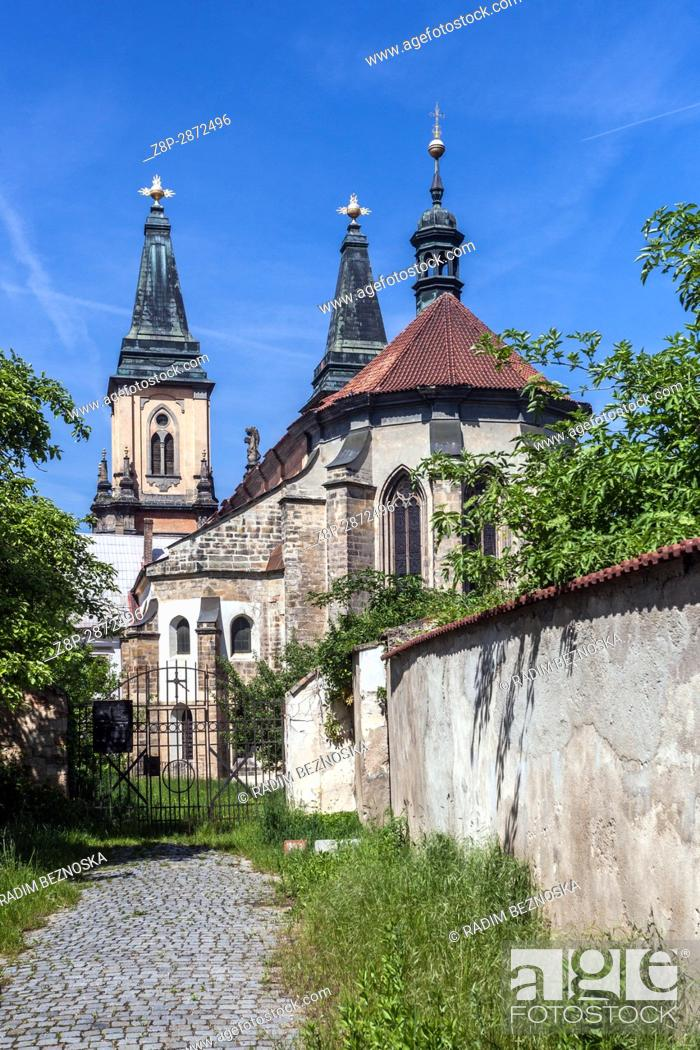 Imagen: Church of the Nativity of the Virgin Mary, Augustinian Monastery, Roudnice nad Labem, Northern Bohemia, Czech Republic, Europe.
