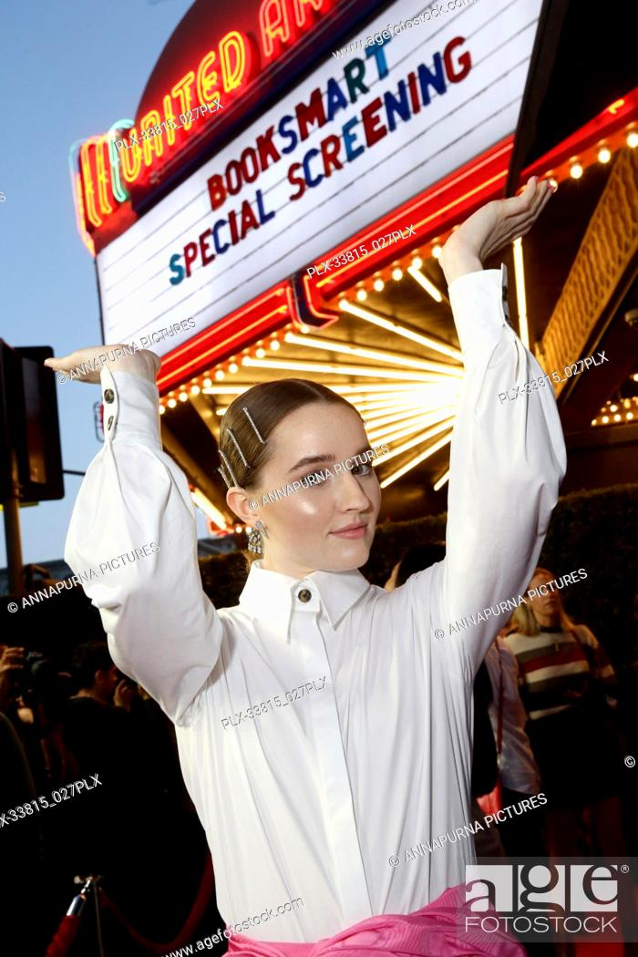 Stock Photo: Kaitlyn Dever at the Los Angeles Special Screening of Annapurna Pictures' BOOKSMART at The Theatre at Ace Hotel, Los Angeles, CA, on May 13.