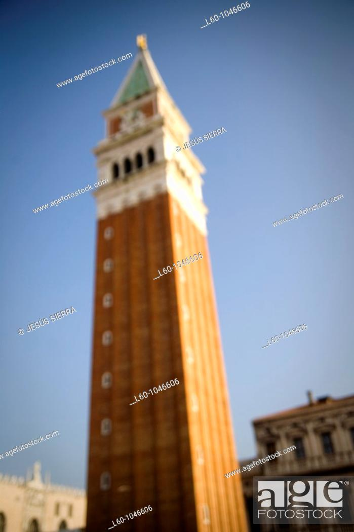 Stock Photo: Piazza San Marcos, Venice.
