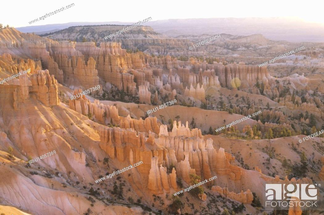 Stock Photo: Bryce Canyon National Park.