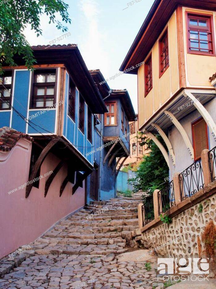 Stock Photo: The old city Plovdiv,  Bulgaria.