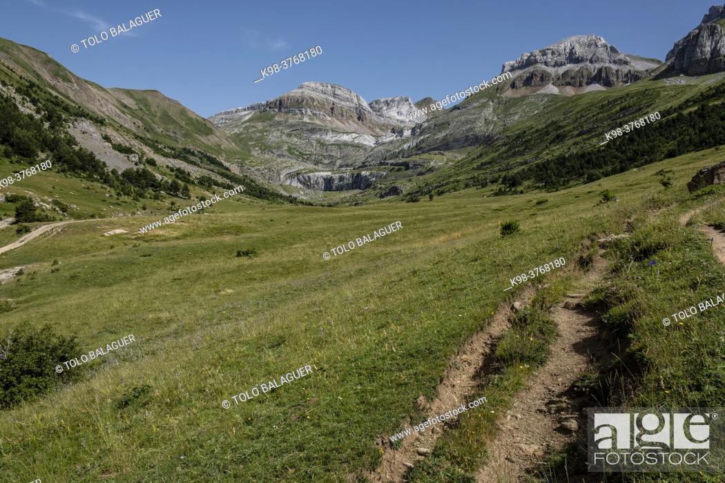 Photo de stock: llano de Napazal, Aisa Valley, Jacetania, Huesca, Spain.