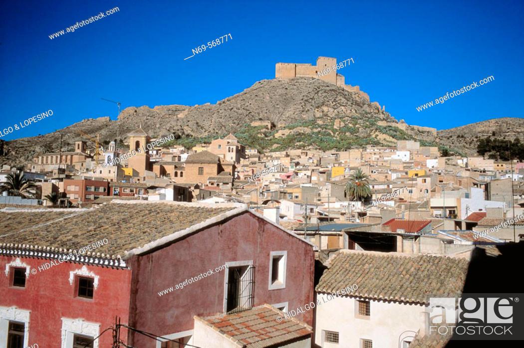 Stock Photo: Mula. Vélez castle. XVIth century. Murcia province. Spain.