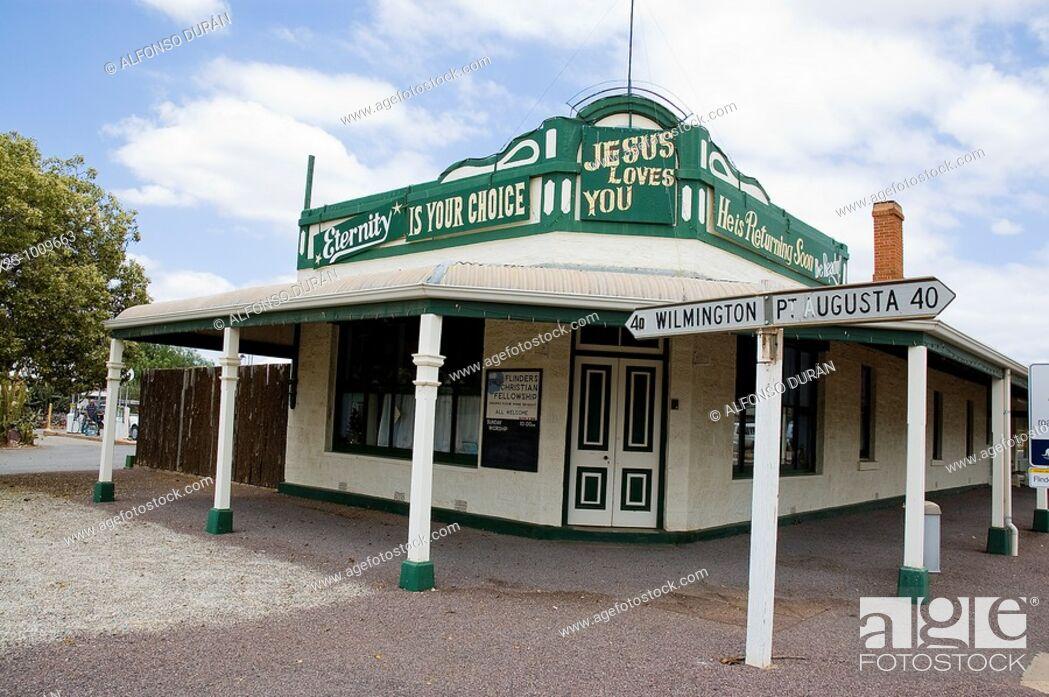 Stock Photo: Quorn, Flinders Ranges, South Australia, Australia.