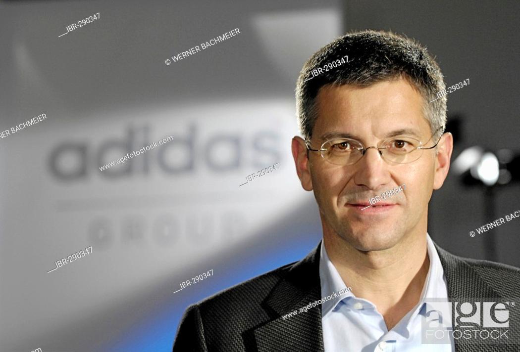 Imagen: Herbert Hainer, CEO. ADIDAS Group, Herzogenaurach - press conference on financial statements.