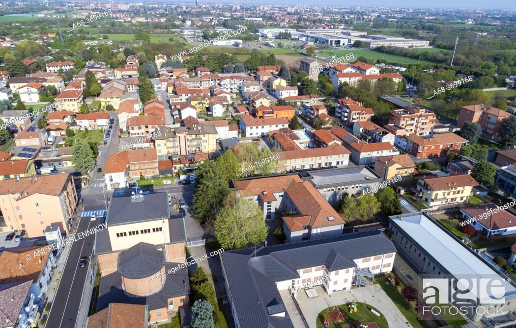 Photo de stock: Milan suburb, Cesano Maderno, Milan, Italy.