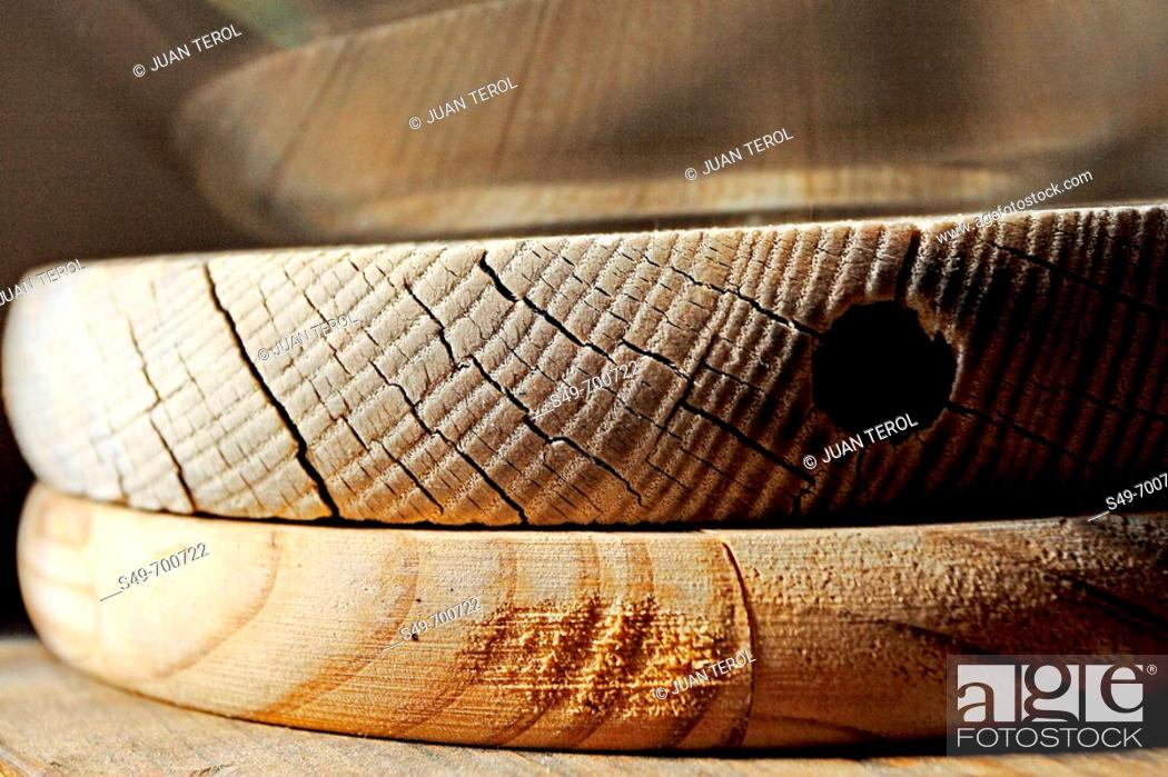 Stock Photo: Wooden boards.