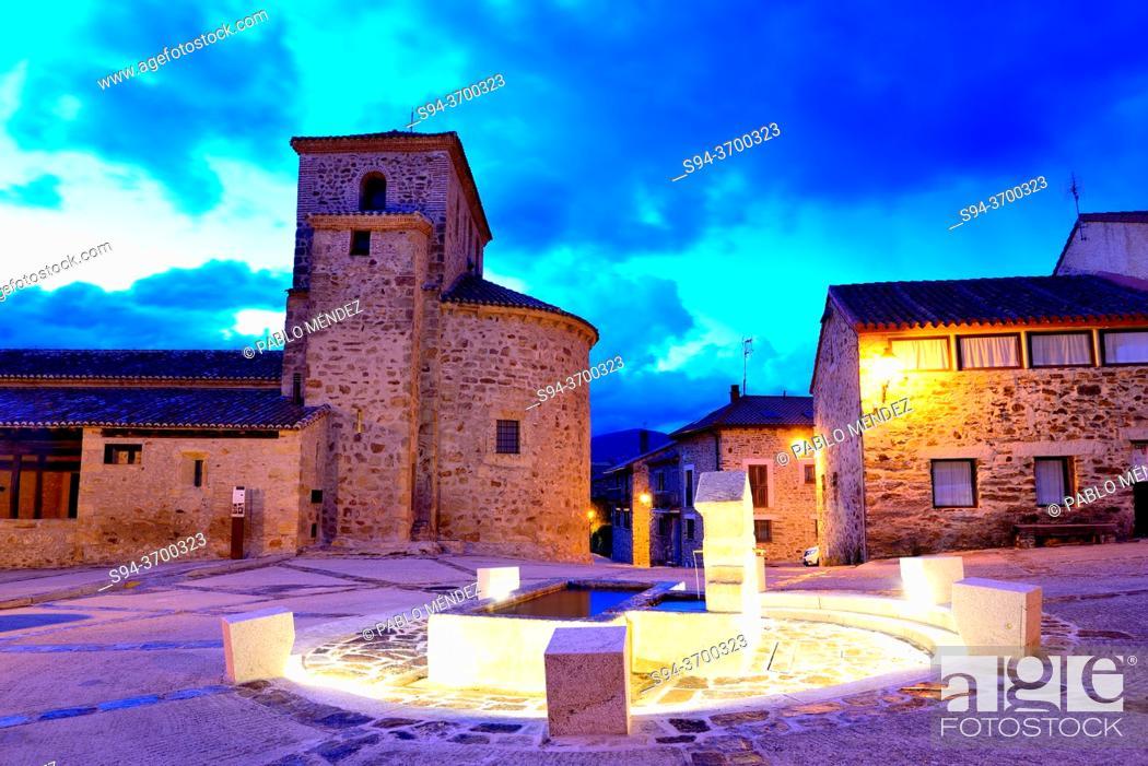 Imagen: Church of Santo Domingo, Pradena del Rincon, Madrid, Spain.