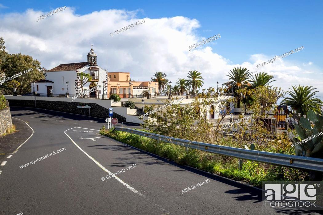 Stock Photo: Church Nuestra Senora de Candelaria, La Palma, Canary islands, Spain.